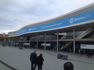 HP Discover at Fira Barcelona Gran Via