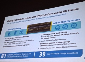 HP 3PAR File Personas