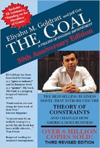 The Goal by Eli Goldratt Cover