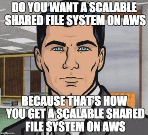 AWS EFS Meme