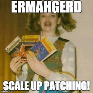 AWS Scale Up Patching