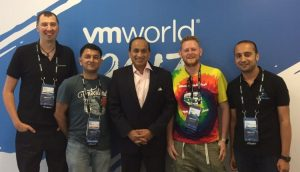 Sanjay Poonen and the Open TechCast crew!