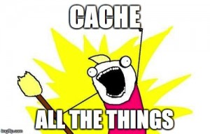 AWS S3 cache all the things