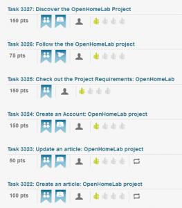 Open Homelab Tasks on CloudCredibility.com!