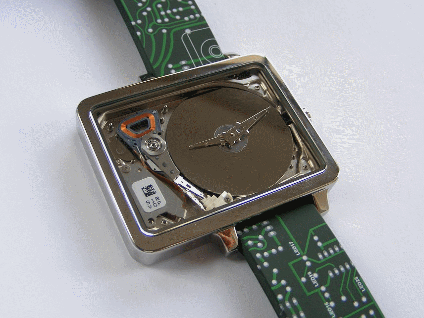 HDD Watch Review Closeup