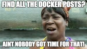 docker and container posts