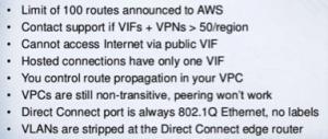 AWS VPC VPCs