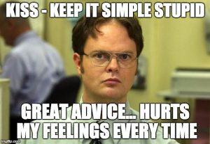 kiss - Keep it simple stupid EFS